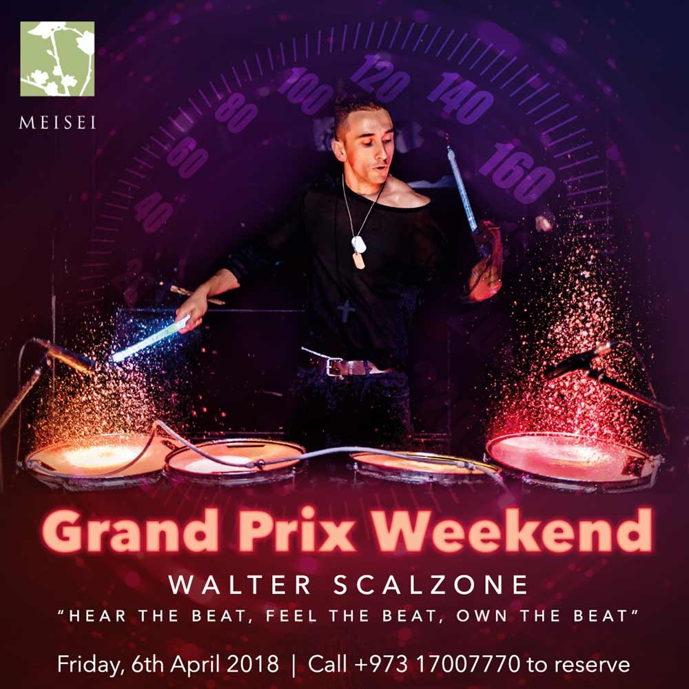 Grand Prix Weekend Main Event Featuring Walter Scalzone: Friday 6th April